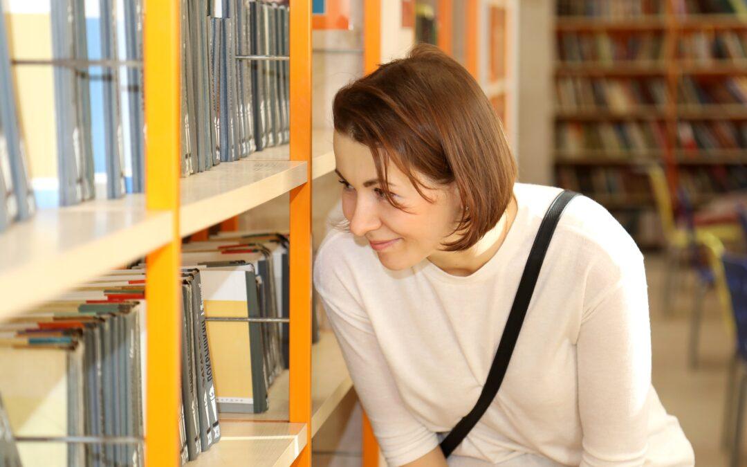 Recherche d'ouvrage en bibliothèque