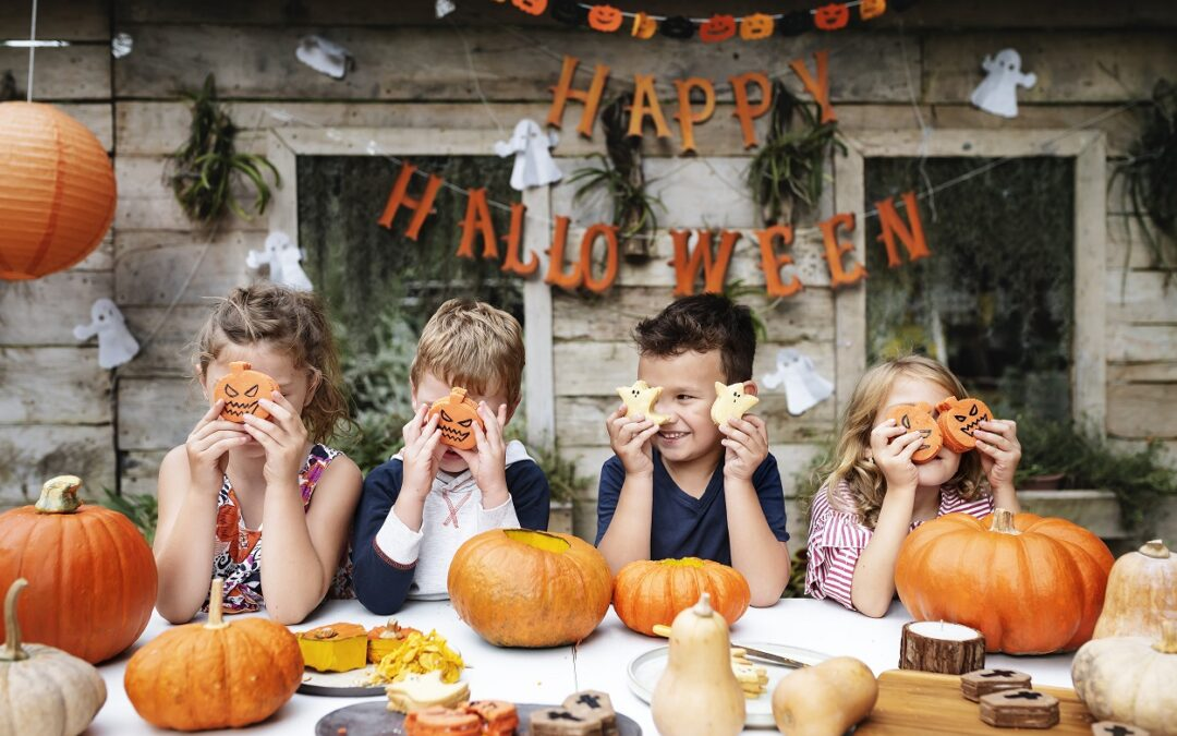 Halloween sous toutes les coutures… Stage pour petits et grands!